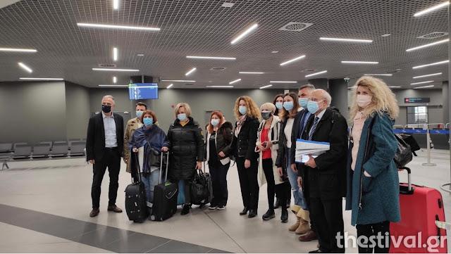 Έφτασαν στην Θεσσαλονίκλη οι νοσηλεύτριες από το Άργος (βίντεο)