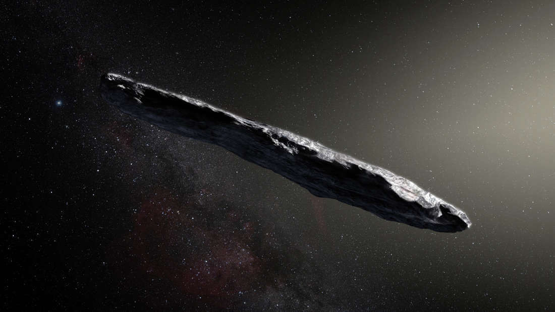 Researchers Examined A Bizarre Interstellar Object To See Whether It's An Alien Spaceship