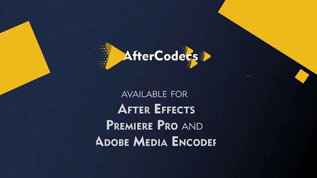 اصدار جديد وحصري لـ افضل اضافة لبرامج ادوبي مفعلة فقط ثبت واستخدم AfterCodecs 1.9.3
