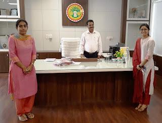 कलेक्टर ने चयनित आईएएस सुश्री राधिका को जिले का स्वीप आइकाॅन बनाया