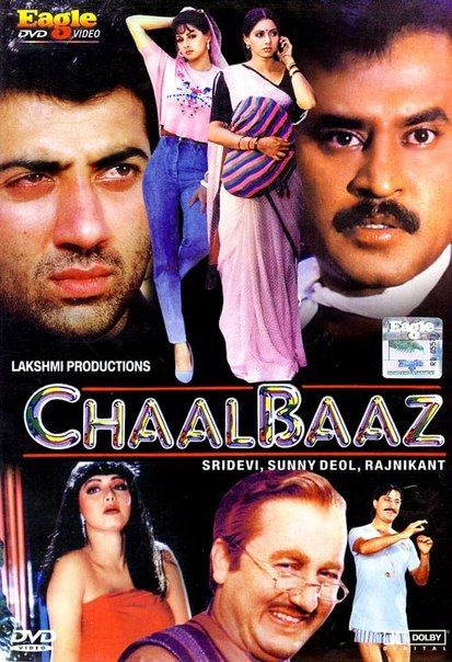 Chaalbaaz (1989) Hindi 720p HDTVRip x264 1.2GB