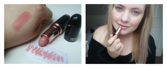Makeup Revolution Iconic Pro Lipstick in You're a Star Swatch on http://emandhanxo.blogspot.co.uk