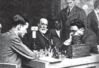 Partida de ajedrez Dr. Rey - Arístides Gromer, Sitges 1934