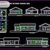 مخطط مشروع مصحة صغيرة اوتوكاد dwg