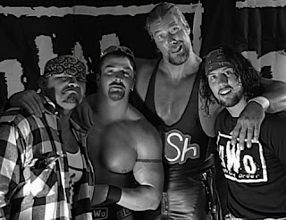 WCW Fall Brawl 1997 Review - The NWO cut a backstage promo about their War Games match with The Four Horsemen