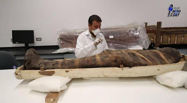 فيديو لمومياء مصرية تتحدث بعد ثلاثة آلاف عام على تحنيطها