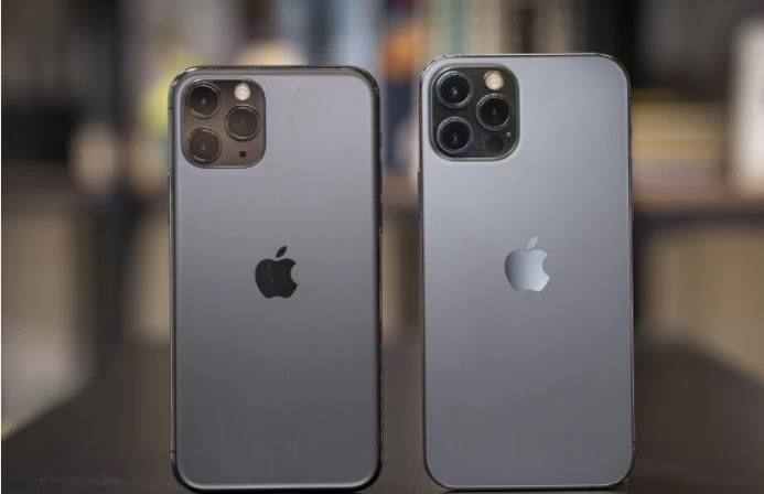 iPhone 11 Pro users using the iPhone 11 Pro. The 12 Pro looks