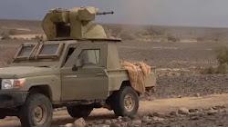 Phiến quân Houthi của Yemen chế tạo xe bán tải bắn điên cuồng với pháo nòng 30mm