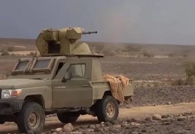 Houthi của Yemen chế tạo xe bán tải bắn điên cuồng với pháo nòng 30mm