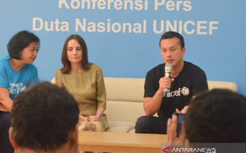 "Ketika ""Rangga"" Jadi Duta Nasional UNICEF"