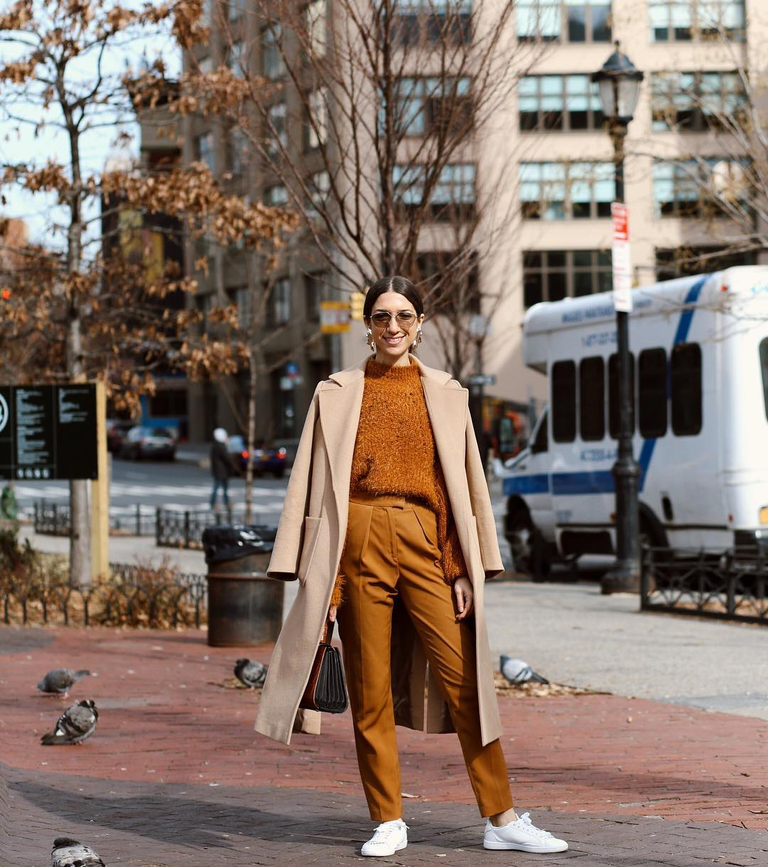This Street Style Outfit Is so on Trend for Fall 2019