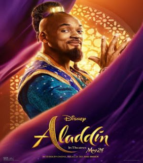 Cinema, Trailer, Official, Movie, Film, Aladdin, New, 2019, Will Smith, Genie, clip, prince clip, genie, genie clones, scene