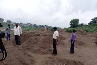 बुरहानपुर में रेत के अवैध खनन को लेकर एसडीएम एक्शन में
