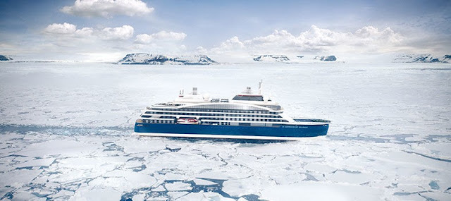 Ponant Cruises Luxury Exploration Ice Breaker Le Commandant Charcot