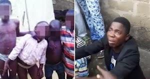 Nigerian Man arrested while fleeing with 5 abducted children in Ogun (Photos)
