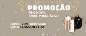 Cadastrar Promoção Transamérica Ano Novo Smartphone Novo Apple 8 + Mochila