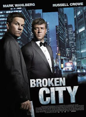 Broken City 2013 Dual Audio 480p 350MB [Hindi - English] BRRip