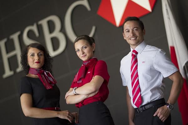 Đồng phục ngân hàng HSBC