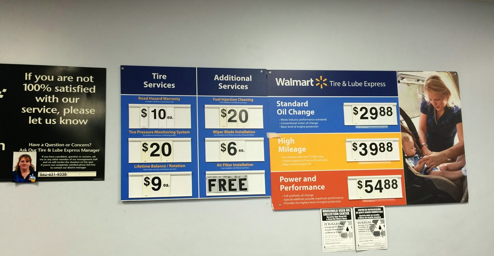 Oil Change At Walmart >> Want To Know The Information About Walmart Oil Change Prices