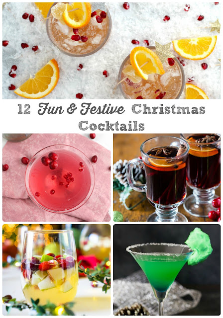Keep your spirits merry & bright this holiday season with these 12 Fun & Festive Cocktails for Christmas.
