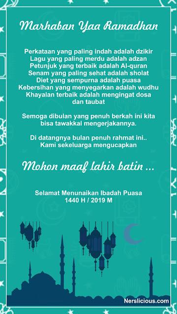 Ucapan Ramadhan 2019 #12
