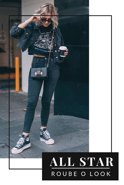 TOTAL JEANS + ALL STAR