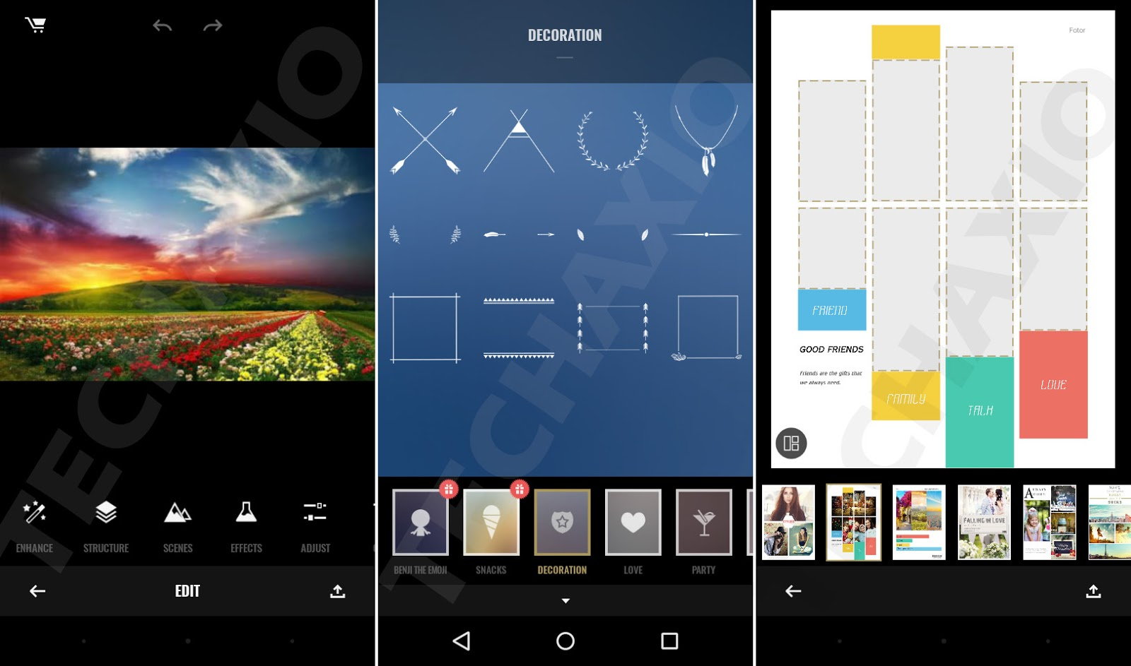 Fotor Photo Editor Screenshots