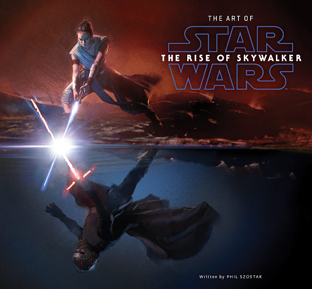 the art of rise of skywalker cover