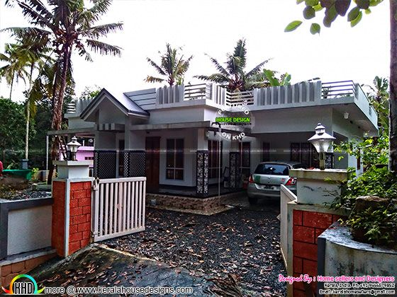Single floor house in 8 cents of land for sale
