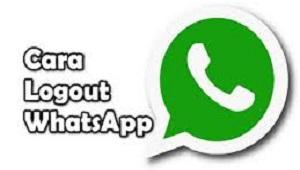 Cara Logout WhatsApp