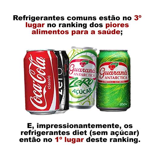 refrigerante nunca mais