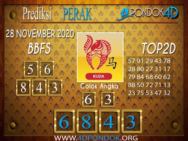 Prediksi Togel PERAK PONDOK4D 28 NOVEMBER 2020