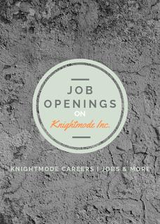 Job Openings on Knightmode Inc.