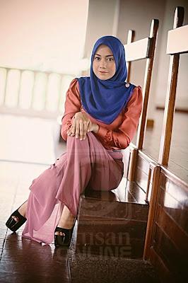 Skirt Labuh Mia Ahmad dalam Drama Hati Perempuan