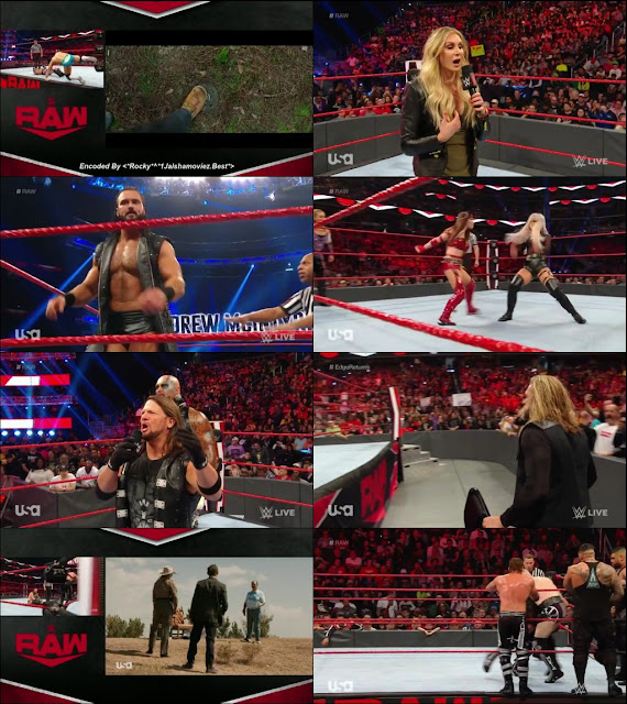WWE Monday Night Raw 9 March 2020 720p HDTV