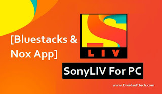 SonyLIV For PC