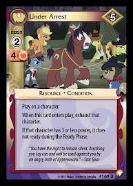 My Little Pony Under Arrest Equestrian Odysseys CCG Card
