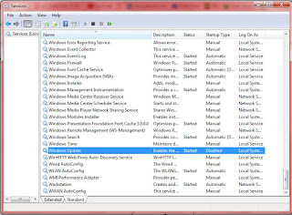 Mengatasi Penggunaan CPU 100% dengan Mematikan Windows Update