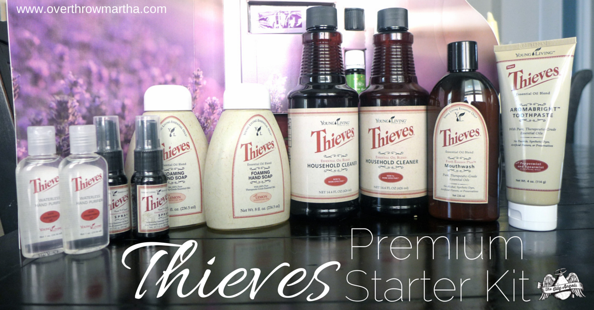 #Thieves Premium Starter Kit from #YoungLiving