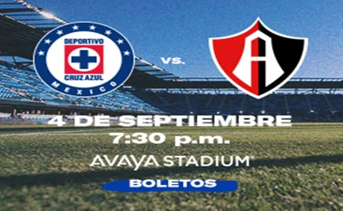 Cruz azul, atlas, futbol, soccer, tickets, avaya