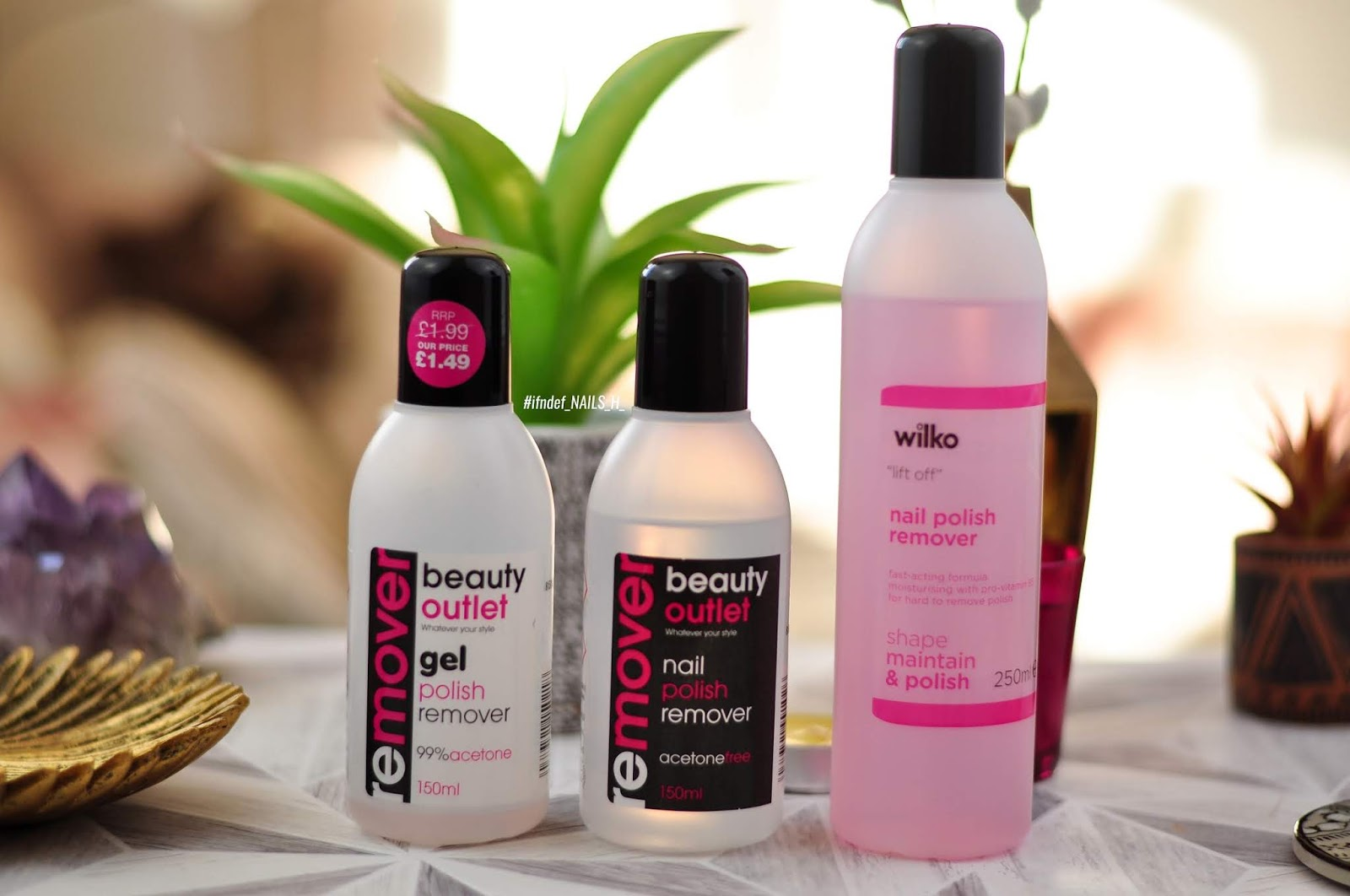 Three Nail Polish Removers #1 // Beauty Outlet & Wilko | #ifndef ...
