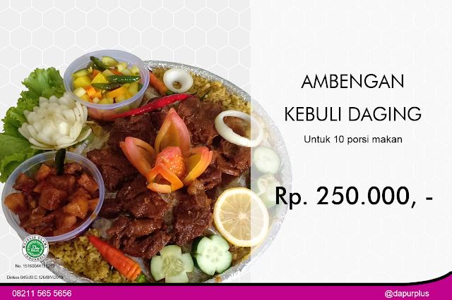 Harga Nasi Kebuli di Semarang
