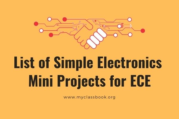 Top 38 Mini Projects for ECE