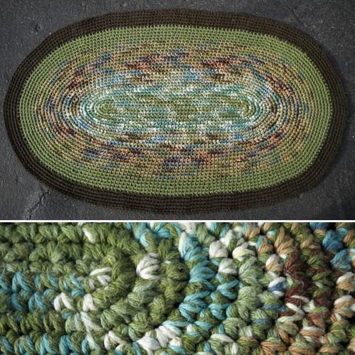 Millennium Loop Rug - Free Pattern