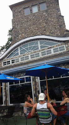 The Lighthouse in Lake Hopatcong, New Jersey present day July 2016. It's a bar / restaurant now