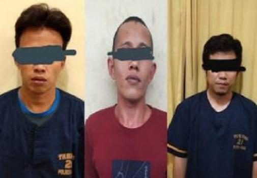 Sindikat Spesialis Pencuri Ternak Digulung SatReskrim Polres Solok Kota