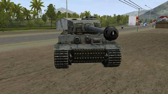 mod bussid tank tiger