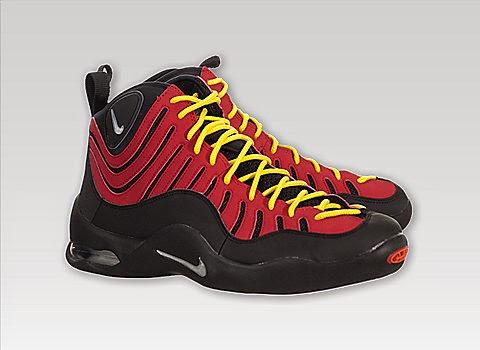 el precio se mantiene estable colección completa cliente primero KIX & LIDZ: Nike Air Bakin - Black/Red