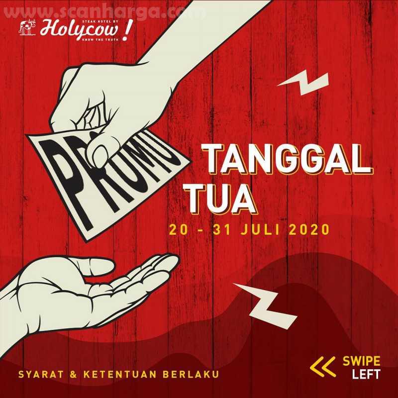 Holycow Promo Tanggal Tua Periode 20 - 31 Juli 2020 1