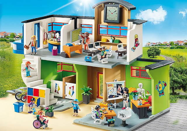 The Playmobil City Life Furnished School
